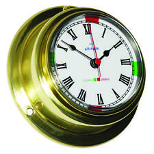 Horloge Laiton Chrome Argent Marque Foresti e Suardi FS2150A.C