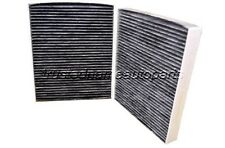 2011 12 13 14 2015 BMW 5 6 7 M5 M6 Cabin Air Filter Carbon Charcoal Set of 2 New