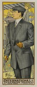 International Tailoring Company Advertising Poster Fine Art Lithograph S2