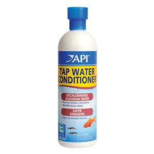API Tap Water Conditioner Dechlorinator for Aquarium Removes Chlorine 30ml 118ml