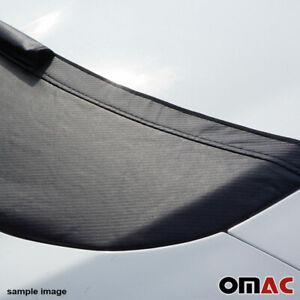 Carbon Look Hood Cover Mask Vinyl Bonnet Bra Protector for Honda Civic 2006-2011