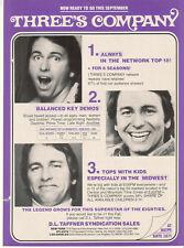 John Ritter Three's Company 1982 Ad- The Legend Grows