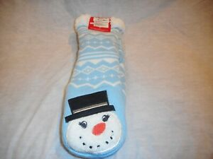 N/W/T Charter Club Slipper Socks Blue S/M & Grey L/XL SOLD SEPARATELY