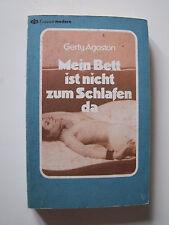 Gerty Agoston : Mein Bett ist nicht zum Schlafen da (Erotik-Roman Taschenbuch)