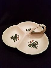 Nikko Christmastime Three Sectioned Serving Tray - NEW IN BOX