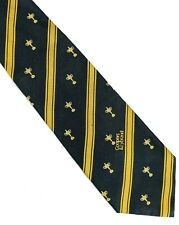 1997 Ryder Cup official silk tie blue with gold stripes