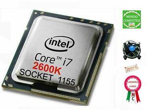 PROCESSORE INTEL SOCKET LGA 1155 CORE  i 7 2600K + DISSIPATORE + PASTA TERMICA