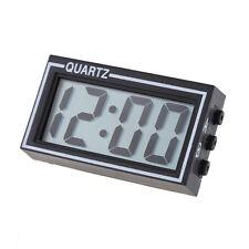 Mini Digital LCD Dashboard Auto Clock Time Calendar for Car Motorcycle Motor