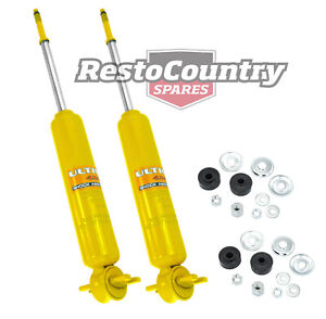 Holden Front Gas Shock Absorbers PAIR HEAVY DUTY HQ HJ HX HZ WB NEW suspension