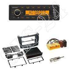 Continental TR7412UB-OR Radio + Mazda3 (Typ BL) Blende schwarz + ISO Adapter Set