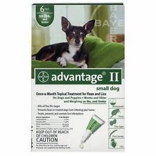 Bayer Advantage Ii small dog 3-10 lbs ~ 6 Month Supply ~ kill flea and lice Nib