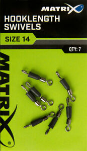 Matrix Hooklength Swivels (All Sizes) *New* - Free Delivery