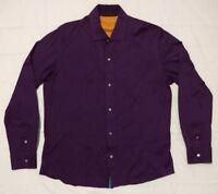vintage Robert Graham long sleeve shirt  Purple Size M