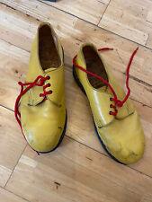 Vintage Dr Martens Steel Toe UK8 Yellow