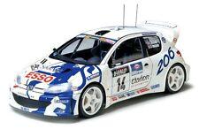 Tamiya 24221 1/24 Scale Model Car Kit Peugeot Esso 206 WRC Rally '99 G.Panizzi