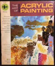 The Art Of Acrylic Painting By The Grumbacher Library (Paperback, 1969)
