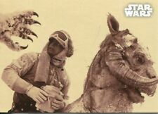 Verzamelkaarten, ruilkaarten Star Wars ESB Black & White Sepia Base Card #83 An Unconventional Welcome