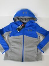 Boy's Youth Under Armour Storm Coldgear Loose Fit Full Zip Hoodie size YLG new