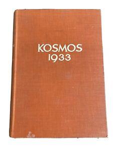 Kosmos Jahrgang 1933 Handweiser für Naturfreunde Zentralblatt Bildungswesen
