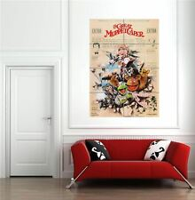 More details for the great muppet caper jim henson giant new poster print wall art picture