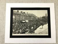 Antique Print Old Chipping Norton Cotswold Hills Oxfordshire Victorian 1887