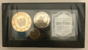 Harry Potter Gringotts Coin Collection Movie Prop Replica Authentic Collectible