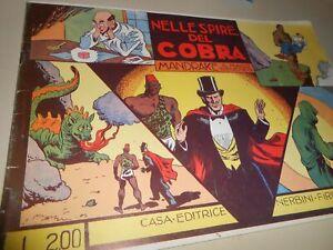 libro: NELLE SPIRE DEL COBRA - MANDRAKE IL MAGO BENEFICO-CASA ED.NERBINI