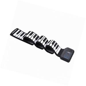 Dilwe Roll Up Piano, Tragbare 88 Tasten Elektronische Tastatur Aufrollen Wiedera