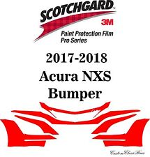 3M Scotchgard Paint Protection Film Pro Series Clear Bra 2017 2018 Acura NSX