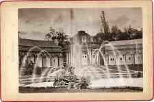 L. Sauter, Bayreuth, Eremitage  Vintage print. Germany. L. Sauter, Photograph in