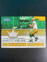 Green Bay Packers Brett Favre Game Worn Jersey Card