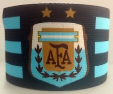 Argentina Captain Armband Fascia Capitano Brazalete Capitaine Brassard Messi