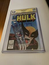 Incredible Hulk #340 CGC SS 9.8 Signed by McFarlane!!!! ICONIC COVER