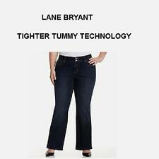 46792a3e275 Lane Bryant Jeans Tighter Tummy Tuck Technology Stretch Bootcut Size 16