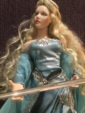 New ListingFranklin Mint Lady Of The Lake Doll Nimue Camelot Legend Arthurian Excalibur
