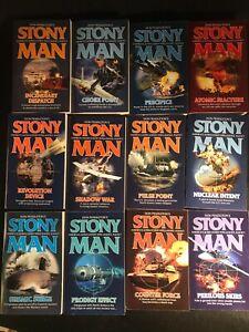 "Twelve Different Don Pendleton ""Stony Man"" Paperback Novels UNREAD/NEW"