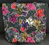 NWT Vera Bradley Tote In Falling Flowers, 15702-112