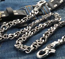 Cross Shield Connect Classic Biker Trucker Keychain Key Jean Wallet Chain NCS55