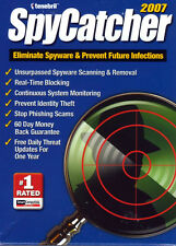 Spycatcher 2007 (PC 2007) Eliminate Spyware and Prevent Future Infections!