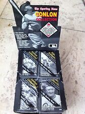 1991 Conlon Collection cello pack - Babe Ruth - Lou Gehrig - Honus Wagner