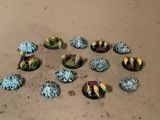 SPRING SALE! Warhammer 40k Lot 22 PAINTED TYRANIDS RIPPER SWARMS & TERRAIN