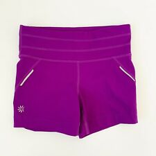 Athleta Purple Running Athletic Biker Bike Shorts Womens Size XXS