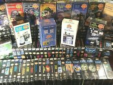 100+ NEW Sealed DOCTOR WHO? Movies Episodes BoxSet VHS TAPES lot Unearthly Child