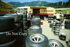 Dunlop Tyres Garage Austrian Grand Prix 1970 Photograph