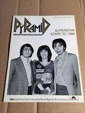 PYRAMID 18.01.1980 - Number 9 - ANDREW LLOYD WEBBER / MARTI WEBB / DON BLACK