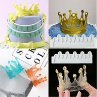 Mold Silicone Cake Princess Crown Mould Liquid Sugarcraft Decoration Fondant New