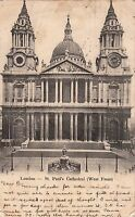 Postcard - London - St. Paul's Cathedral (West Front)