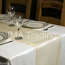ORGANZA TABLE RUNNER  280 cm Long x 35 cm Wide VARIOUS COLOURS