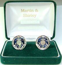 1993 Vingt pence fabriqués à partir de 20p pièces en bleu & Argent