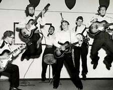 "The Dominoes Skiffle Group 10"" x 8"" Photograph"
